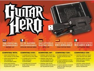 Guitar Hero Rechargable Battery