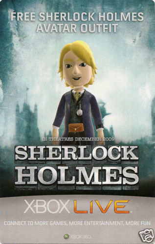 Sherlock Holmes Avatar Outfit