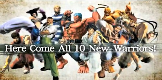 ssf4 all 10 new characters
