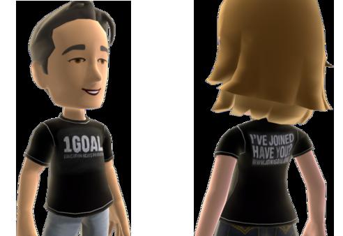 1GOAL Charity X360 Avatar T-Shirt