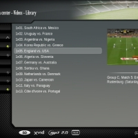Add your World Cup 2010 matches to XBMC's Video Library