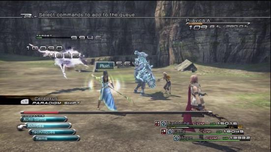 Final Fantasy 13 - The Battle System