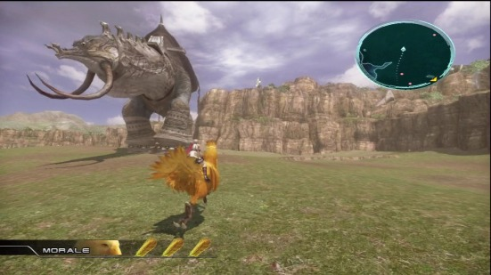 Final Fantasy 13 - A chocobo