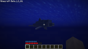 Minecraft - Mo' Creatures - Dolphin