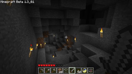 Minecraft - Going deeper underground