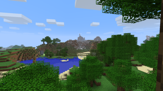 Minecraft - a view from the seed Silly Name