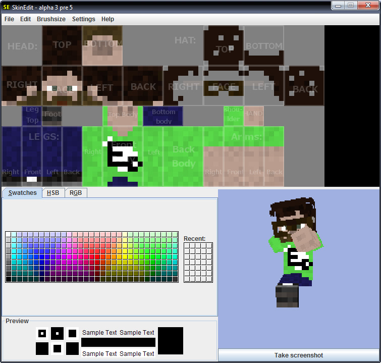 Minecraft Creating A Custom Skin For Your Character Hard And Soft - Skins para minecraft quick