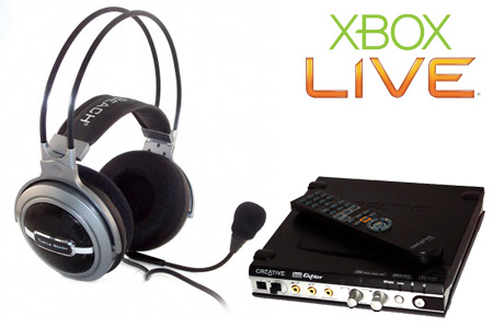 Turtle Beach HPA2 on Xbox 360 via Creative Extigy