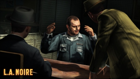 L.A. Noire - interrogating some miscreant