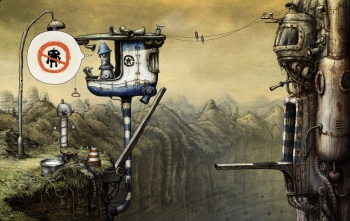 Machinarium - No robots allowed