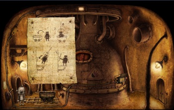 Machinarium - An early puzzle