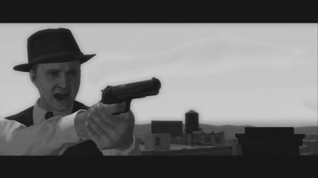 L.A. Noire - playable in Black & White