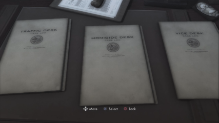 L.A. Noire - replay cases