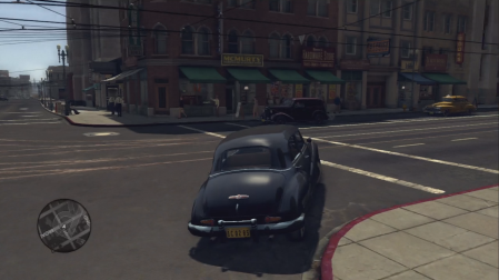 L.A. Noire - Driving around the city