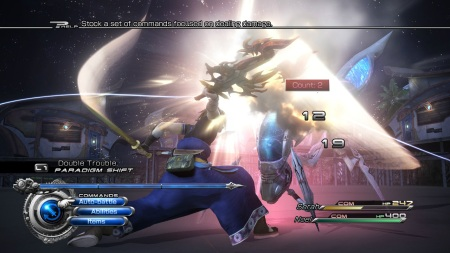Final Fantasy XIII-2 - A look at the updated battle system