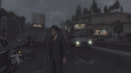 L.A. Noire - Outside the police station