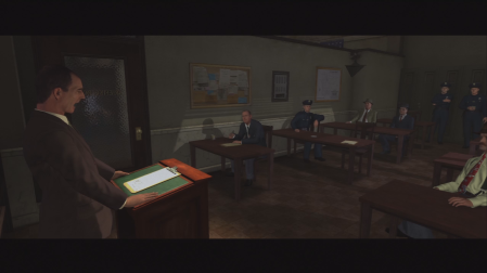 L.A. Noire - Briefing at HQ