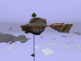 I want to go and live on a Minecraft floating island