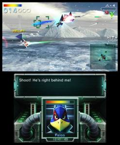 Starfox 64 3D - A look at the dual screen setup