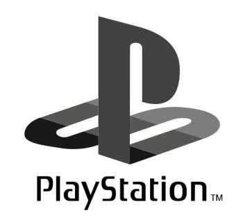 Playstation B&W Logo