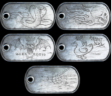 Battlefield 3: Act of Valor dogtags