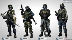 Battlefield 3: Russian Specact Skins