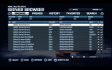 Battlefield 3: Getting to know the server browser on Xbox 360