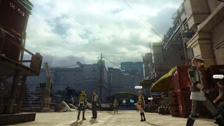 Final Fantasy XIII-2: Town Screenshot