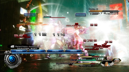 Final Fantasy XIII-2: Battle Screenshot