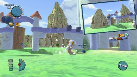 Worms Ultimate Mayhem: Picture-In-Picture