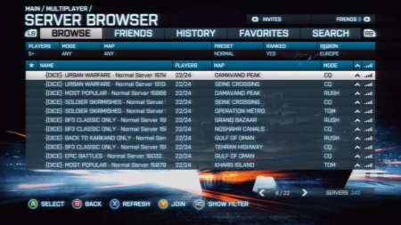 Battlefield 3 - Console Playlists from DICE