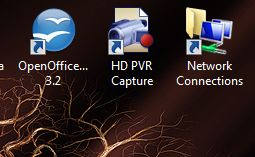 HD PVR Capture Module -  desktop shortcut