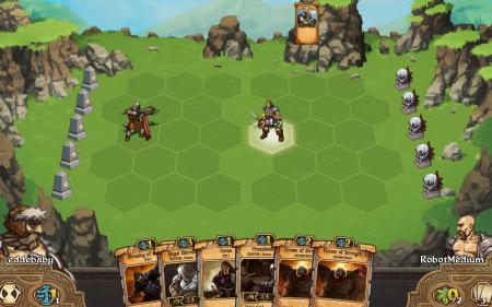 Scrolls - Start of a Battle
