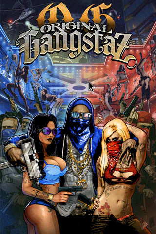 Original Gangstaz - Title Screen